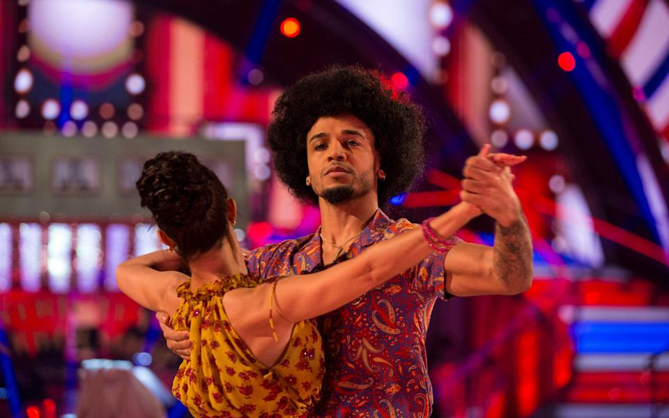Craig gave Aston and Janette's dance a 4. Copyright: [BBC]