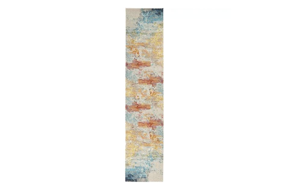 """$400, Target. <a href=""""https://www.target.com/p/celestial-ces02-area-rug-colorful-contemporary-abstract-by-nourison/-/A-76106168?"""" rel=""""nofollow noopener"""" target=""""_blank"""" data-ylk=""""slk:Get it now!"""" class=""""link rapid-noclick-resp"""">Get it now!</a>"""