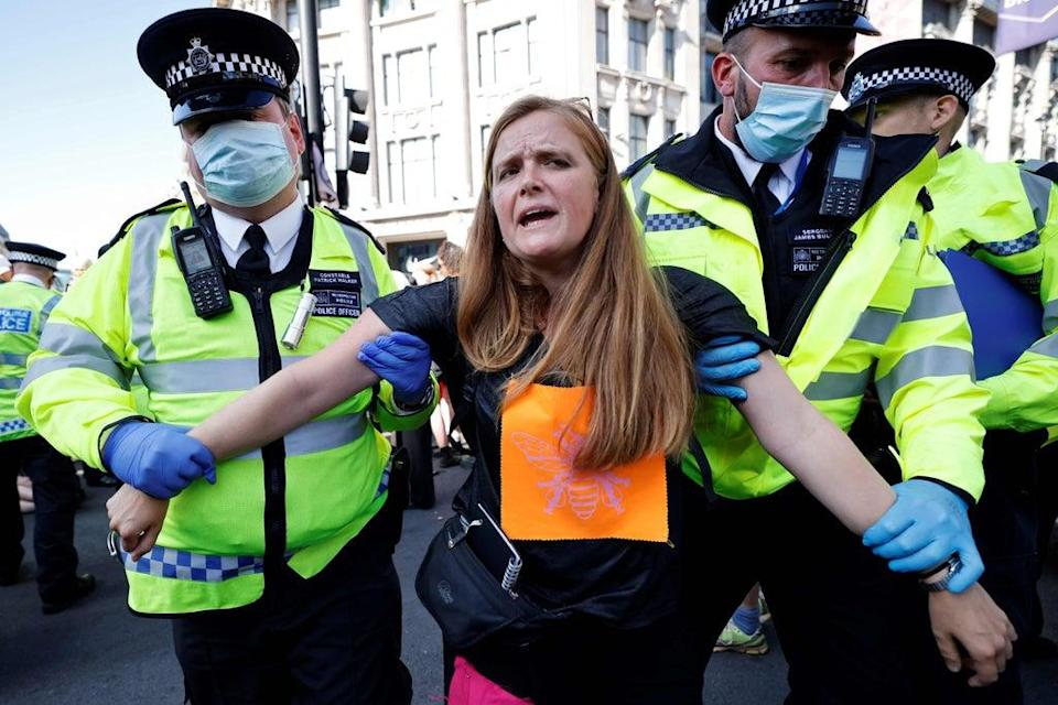 A number of arrests have been made over the last week (AFP via Getty Images)