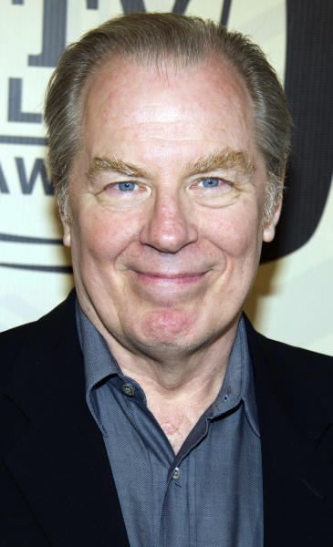 "In this April 14, 2012 photo, Michael McKean arrives to the TV Land Awards 10th Anniversary in New York. McKean, who portrayed Spinal Tap lead singer David St. Hubbins in the movie ""Spinal Tap,"" and Lenny on the hit television show, ""Laverne & Shirley,"" was injured when he was struck by a car in New York City on Tuesday, May 22, 2012. A spokesperson for McKean said that his leg was broken in the accident. (AP Photo/Charles Sykes)"