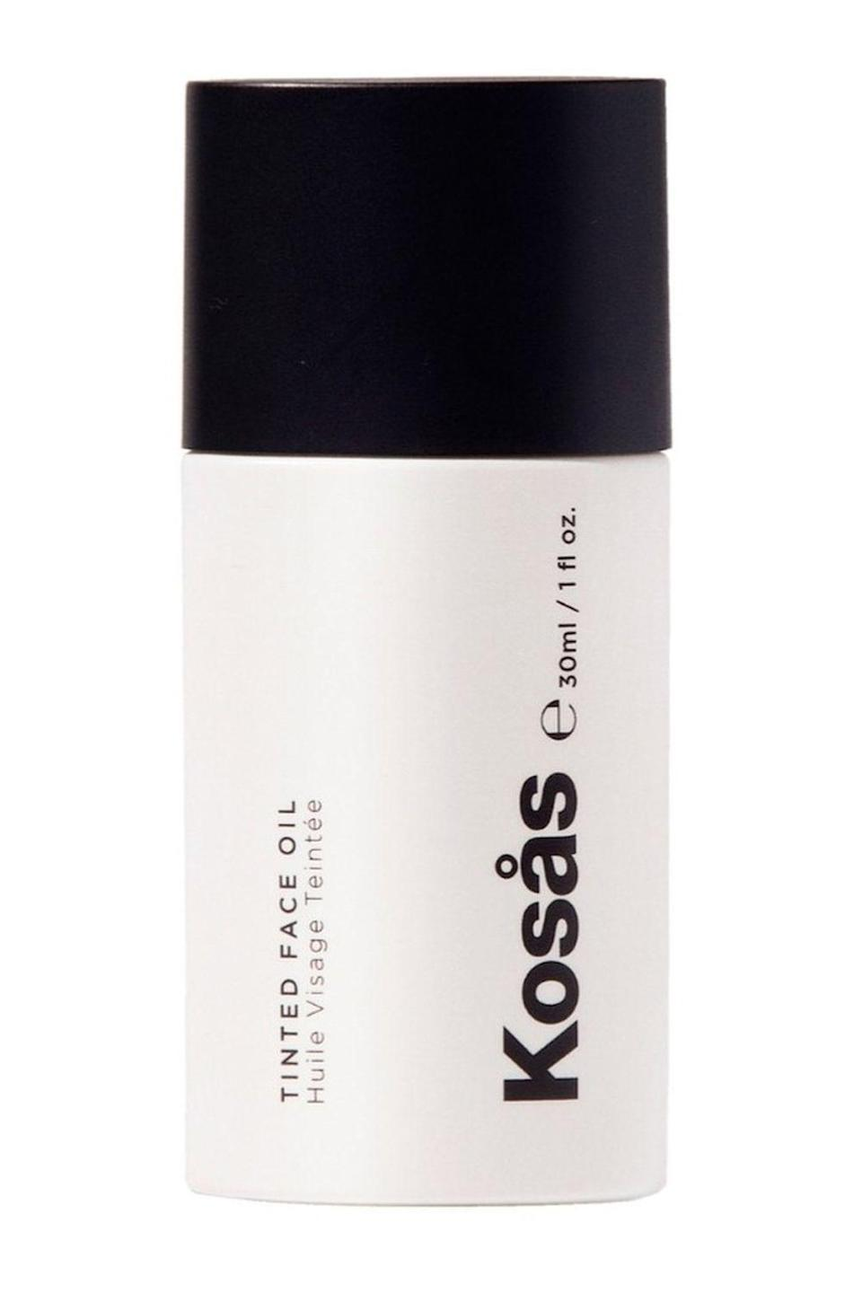 "<p><strong>Kosas</strong></p><p>sephora.com</p><p><strong>$42.00</strong></p><p><a href=""https://go.redirectingat.com?id=74968X1596630&url=https%3A%2F%2Fwww.sephora.com%2Fproduct%2Ftinted-face-oil-P441884&sref=https%3A%2F%2Fwww.cosmopolitan.com%2Fstyle-beauty%2Fbeauty%2Fg33351245%2Fbest-natural-foundations%2F"" rel=""nofollow noopener"" target=""_blank"" data-ylk=""slk:Shop Now"" class=""link rapid-noclick-resp"">Shop Now</a></p><p>Part face oil, part <a href=""https://www.cosmopolitan.com/style-beauty/beauty/g19610163/best-foundation-oily-skin/"" rel=""nofollow noopener"" target=""_blank"" data-ylk=""slk:foundation"" class=""link rapid-noclick-resp"">foundation</a>, this bb is loved by editors and makeup artists for it's ability to cover up redness, breakouts, and dark marks while still letting your skin look like real skin. <strong>Made with just 15 natural ingredients</strong> (most of which are nourishing plant oils), a few drops soothe, plump, and nourish your skin.</p>"