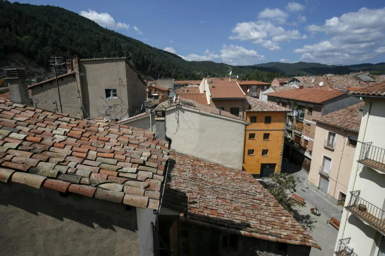 The decrepit two-room flat where Iman Abdelbaki Es Natty lived has a view of the tree-covered Pyrenees and the red roofs of the quaint Catalonian town of Ripoll