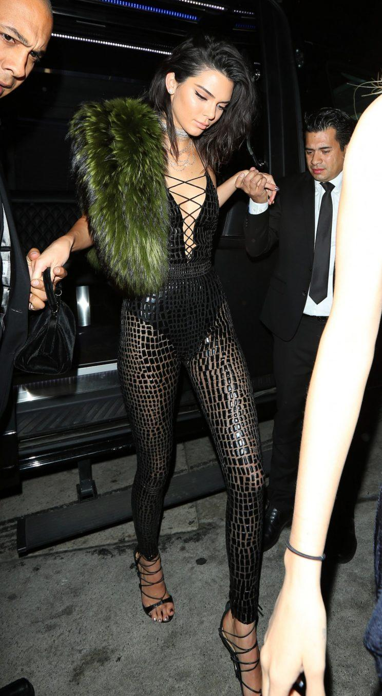 Kendall Jenner Looking Stunning In One Of Her Birthday Looks Photo Splash News