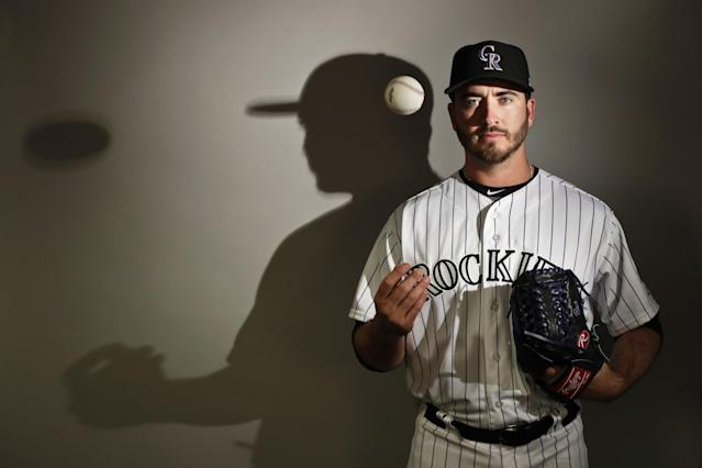 Rockies pitcher Chad Bettis is fighting cancer again. (AP)
