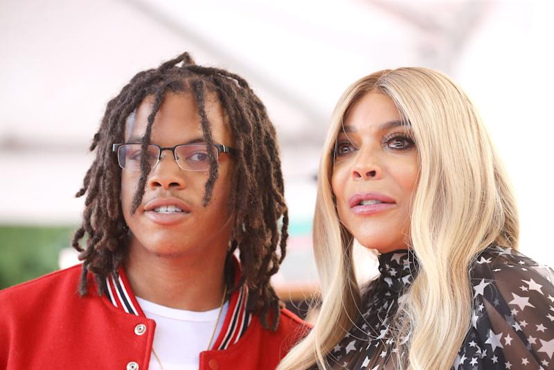 Wendy Williams and her son Kevin Hunter Jr.