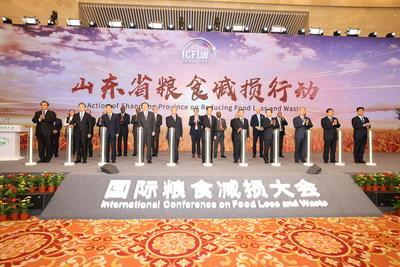 International Conference on Food Loss and Waste opens in Jinan, Shandong