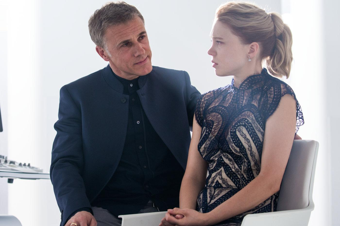 Christoph Waltz and Lea Seydoux in Spectre (Sony Pictures/MGM)