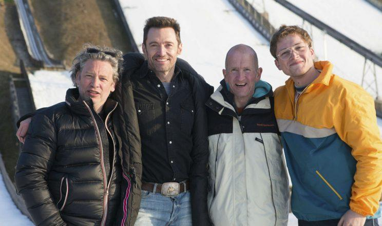 eddie the eagle loses his biopic fee living in shed following divorce