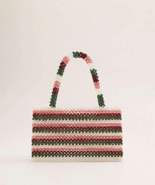 PHOTO: Beaded bags are fall's equivalent of the summer straw tote--and now that it's getting cooler they're about to be everywhere. They may look like you should save them for a special occasion, but the fun is wearing one as a touch of glitz for day. (Mango)