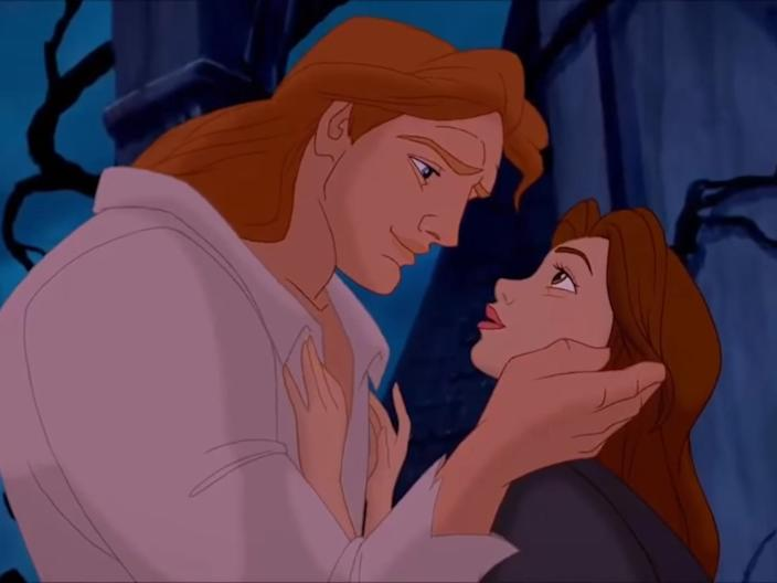 The Beast and Belle Beauty and the Beast