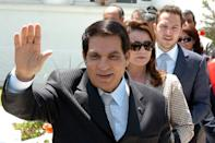 Tunisian president Zine El Abidine Ben Ali fled to Saudi Arabia a decade ago, as street protests against his autocratic rule intensified