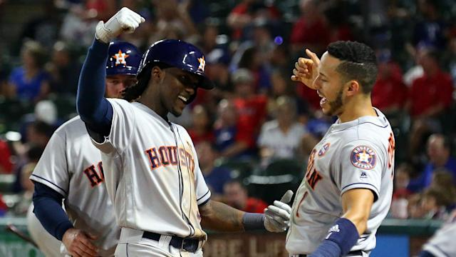 Dallas Keuchel led the Houston Astros to an important MLB win over the Texas Rangers.