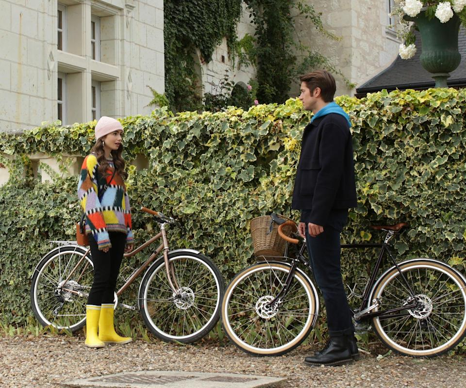 """<h2>Episode 8: """"Family Affair""""</h2><br><br><strong>What Emily's Up To: </strong>She heads to Champagne for the weekend to visit Camille's family winery. While there, she gets into some trouble with Camille's brother.<br><br><strong>Where Emily Goes:</strong> Château de Lalisse is a fictional name for Camille's family home, but it was filmed at the real <a href=""""https://www.chateau-de-sonnay.fr/"""" rel=""""nofollow noopener"""" target=""""_blank"""" data-ylk=""""slk:Château de Sonnay"""" class=""""link rapid-noclick-resp"""">Château de Sonnay</a>, a winery in the French countryside.<span class=""""copyright"""">Photo: Courtesy of Netflix.</span>"""