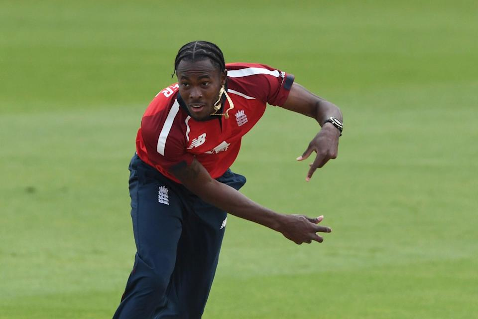 <p>Swann is excited about Jofra Archer's potential in T20 cricket for England</p>Getty Images for ECB