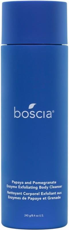 """<p>""""Aside from the fact that I've been able to see results after only two weeks of using the <span>Boscia Papaya and Pomegranate Enzyme Exfoliating Body Cleanser</span> ($35), what I love most about the cleanser is that, even though it's gentle, it leaves my skin feeling tingly and refreshed every time I apply it. It also has a very satisfying scent that's like a mixture of citrus and mint, and it doesn't make me feel dried out all over. Overall, this is definitely a quality body wash to invest in if you're looking for a conscious product that'll help brighten and clear up your skin."""" - Danielle Jackson, assistant editor, Beauty</p> <p>If you want to read more, here is the <a href=""""https://www.popsugar.com/beauty/boscia-papaya-pomegranate-body-cleanser-review-48209344"""" class=""""link rapid-noclick-resp"""" rel=""""nofollow noopener"""" target=""""_blank"""" data-ylk=""""slk:complete Boscia Papaya and Pomegranate Enzyme Exfoliating Body Cleanser review"""">complete Boscia Papaya and Pomegranate Enzyme Exfoliating Body Cleanser review</a>. </p>"""