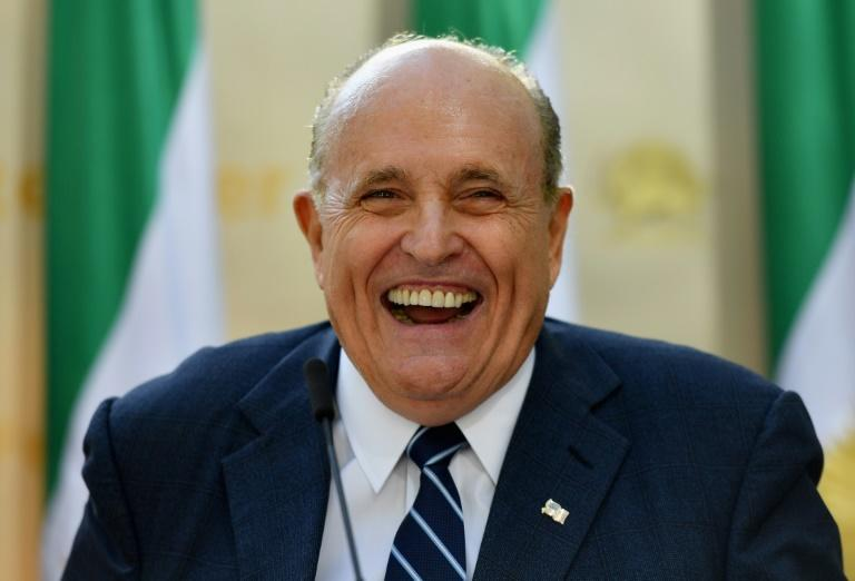 Rudy Giuliani, President Donald Trump's personal attorney, has been described as his pointman in a campaign to press Ukraine to probe Trump political rivals (AFP Photo/Angela Weiss)