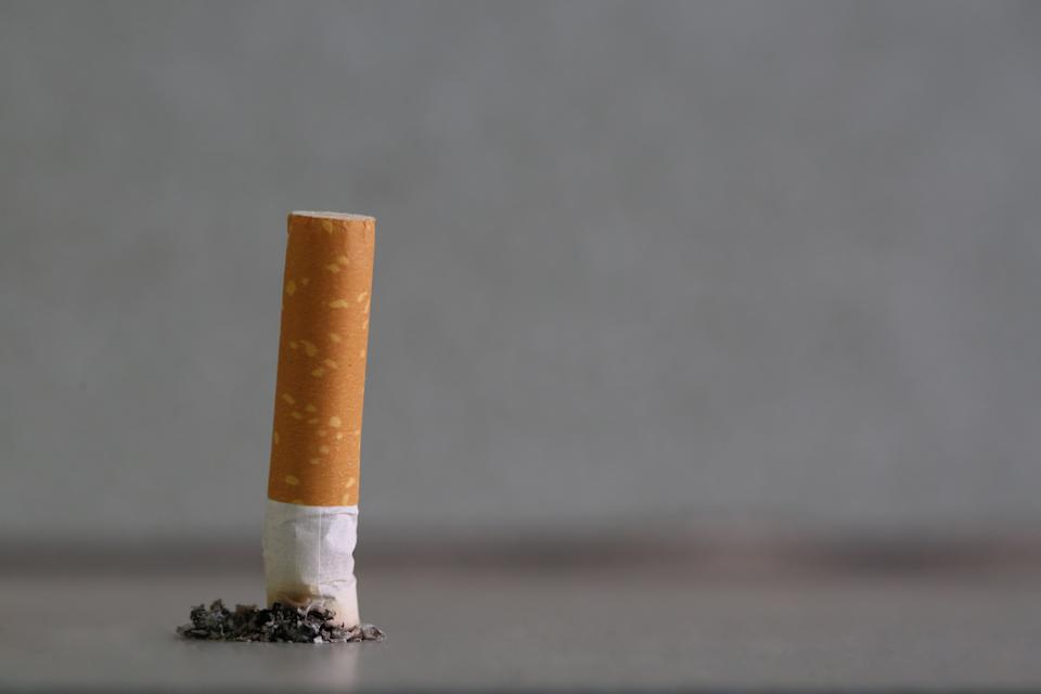 Strictly abstain from smoking