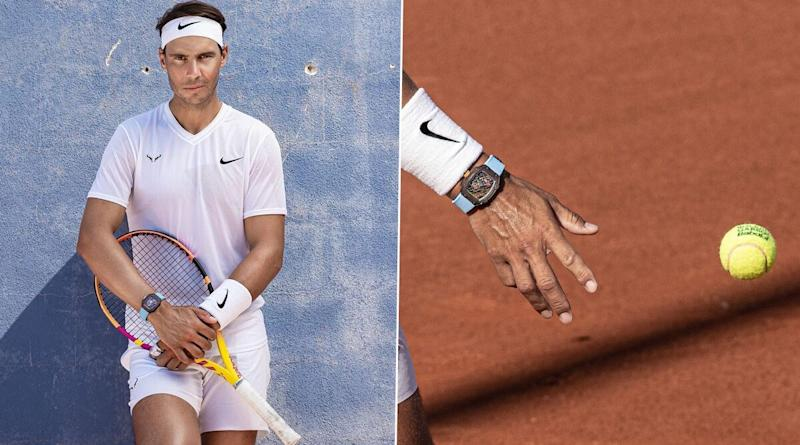Rafael Nadal Sports 780k Worth Customised Richard Mille Watch During French Open 2020