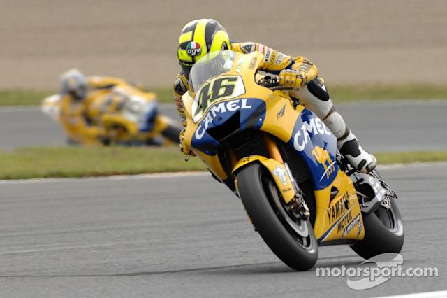 "#46 Valentino Rossi <span class=""copyright"">Camel Media Service</span>"
