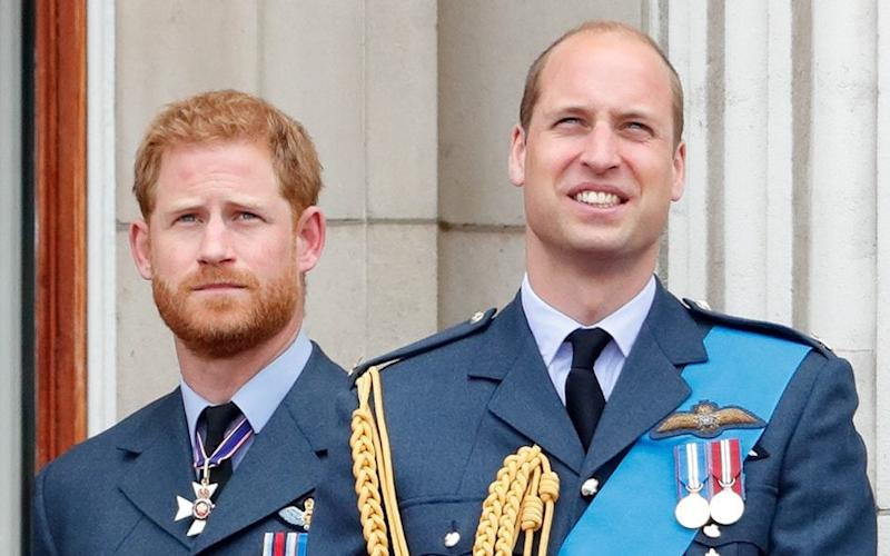 Prince Harry and Prince William in July 2018 - Getty Images Europe