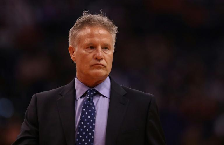 Philadelphia 76ers head coach Brett Brown is expected to coach Australia at next year's Olympics