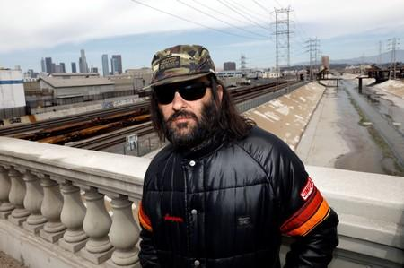 FILE PHOTO: Erik Brunetti, Los Angeles artist and streetwear designer of the clothing brand FUCT, stands for a portrait in Los Angeles