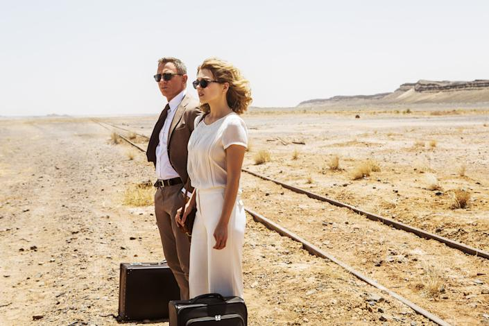 Craig and Lea Seydoux in 2015's Spectre (Photo: Jonathan Olley/©Columbia Pictures/Courtesy Everett Collection)