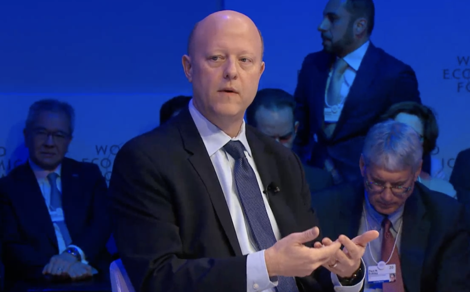 Jeremy Allaire, co-founder and CEO of crypto company, Circle. Photo: World Economic Forum