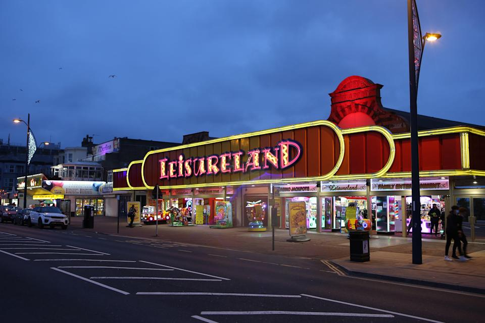 Leisureland on Marine Parade in Great Yarmouth, Norfolk. Picture date: Saturday June 19, 2021. Photographer: Johnny Green