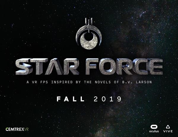 StarForce VR:Cemtrex Inc. (Nasdaq: CETX, CETXP, CETXW), a leading global technology and company, today announced that the virtual reality (VR) adaptation of B.V. Larson's Star Force is now fully in production with a playable BETA release for select testers slated for this summer.