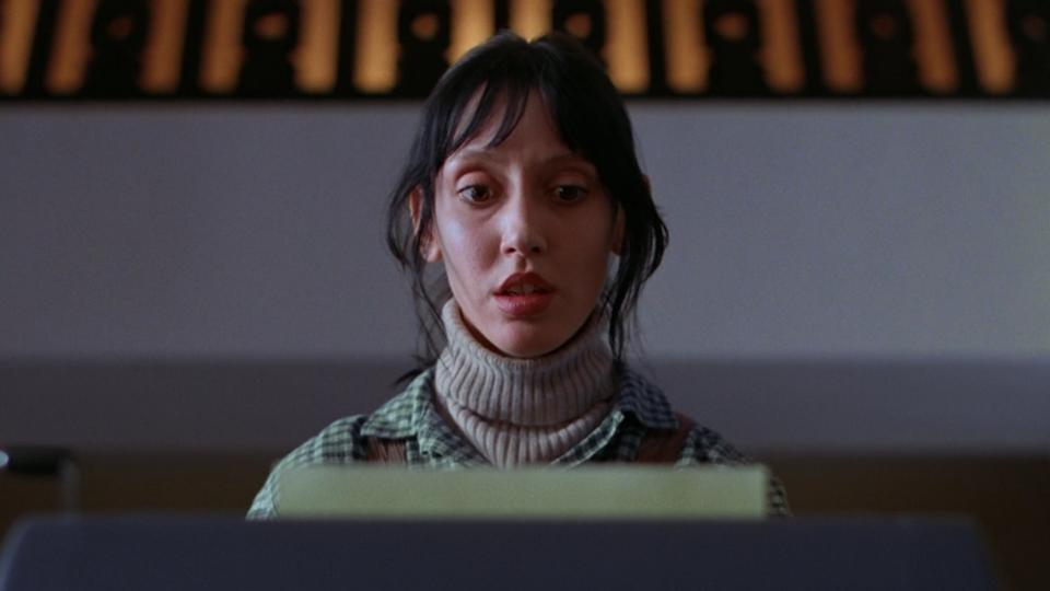 Shelley Duvall as Wendy Torrance in 'The Shining'. (Credit: Warner Bros)