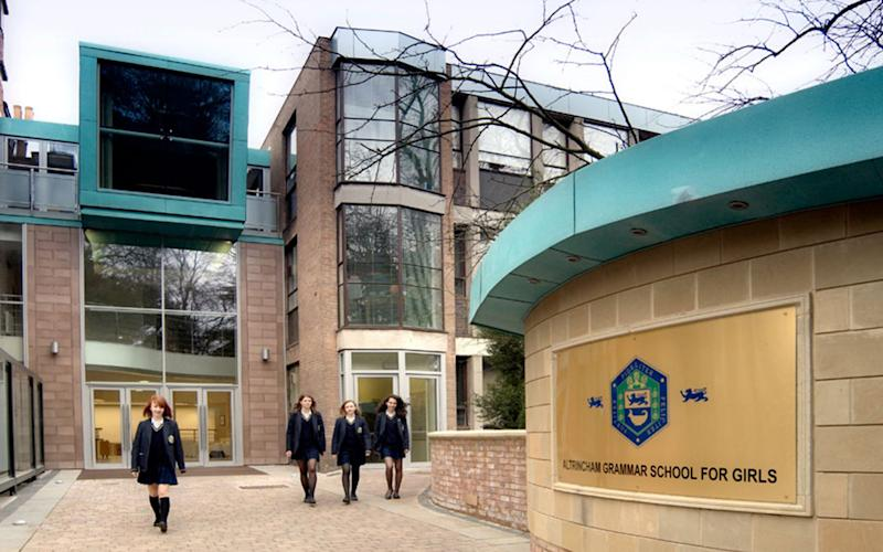 Altrincham Grammar School for Girls is an 11-18 wholly-selective Academy Grammar School responsible for its own admissions.