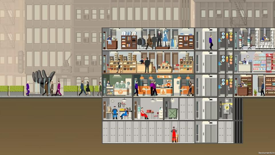 'Project Highrise' lets you manage massive buildings and the tenants within.