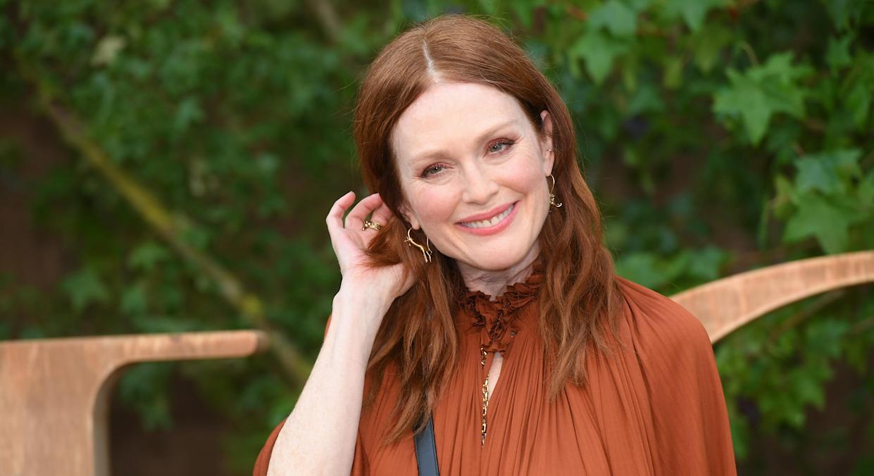 Julianne Moore says the process of ageing is a