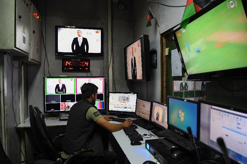 Warlords, politicians, Taliban sympathisers and government officials are openly challenged in televised debates, radio programmes and on social media (AFP Photo/WAKIL KOHSAR)