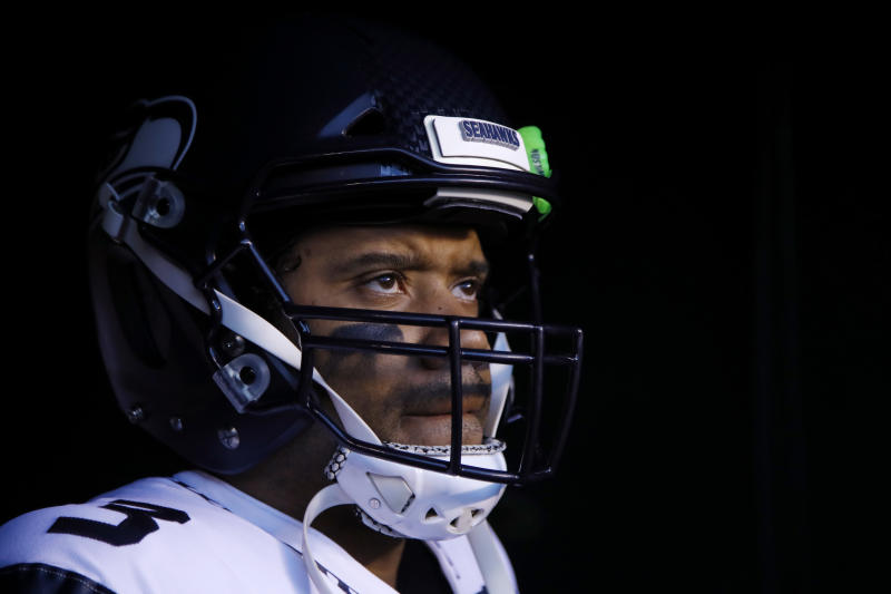 Seahawks' Wilson: 'I don't even want to talk about football'