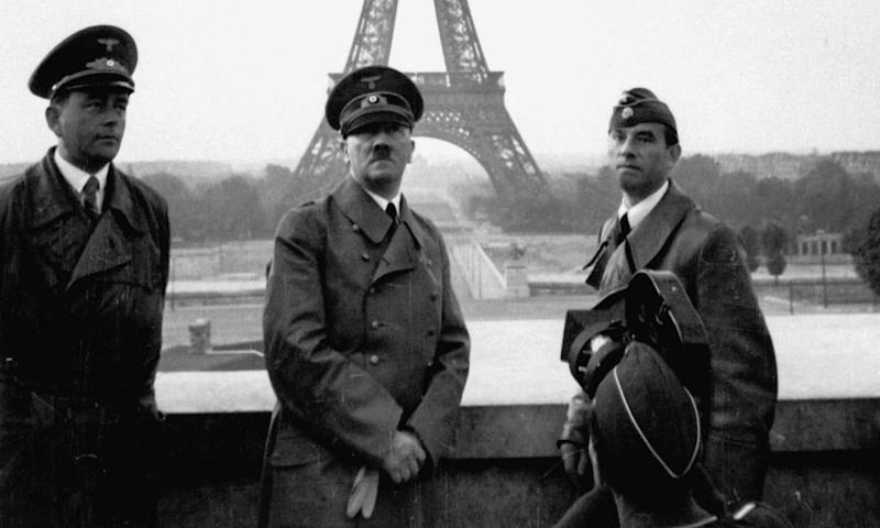 Adolf Hitler in Paris, 23 June 1940.