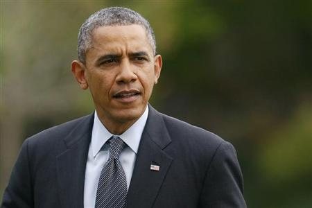 U.S. President Barack Obama returns from a 3-day visit in California, to the White House in Washington