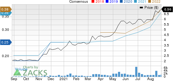Information Services Group, Inc. Price and Consensus