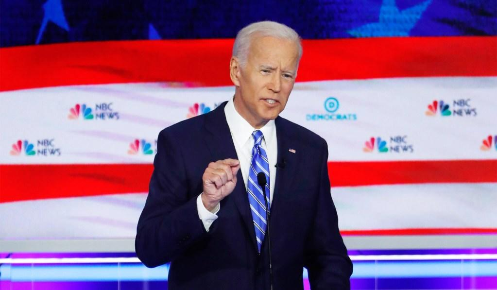 All Joe Biden Had to Do Was Look Moderate, and He Blew It