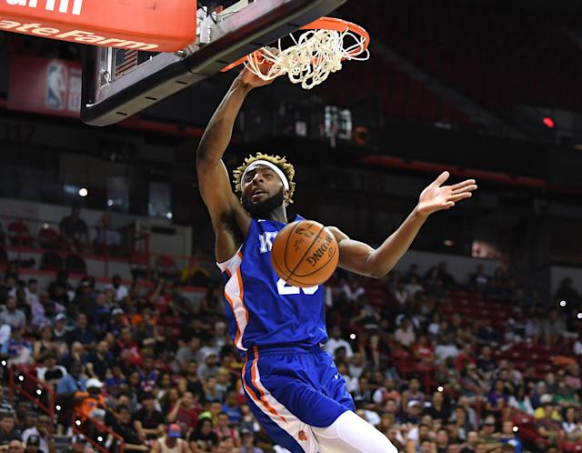If the minutes are there, watch out for Mitchell Robinson. Mandatory Credit: Stephen R. Sylvanie-USA TODAY Sports