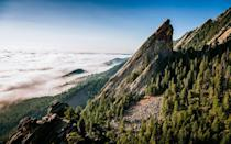 """<p>Not only is this <a href=""""http://www.travelandleisure.com/weekend-getaways/weekend-in-boulder-colorado"""" rel=""""nofollow noopener"""" target=""""_blank"""" data-ylk=""""slk:adventure-seekers' playground"""" class=""""link rapid-noclick-resp"""">adventure-seekers' playground</a> super walkable, safe, and beautiful. it's also home to upscale hostels where all types of travelers converge around firepits and coffee bars to plan the following day's hike. (Tip: the new A-Lodge has a bed-and-ski deal for $99). You'll find free, pro-led biking and running groups all over town, but even those who are not athletically inclined can enjoy Boulder's charms. Head to the Rayback Collective food truck park to make friends and check out Fox Theater's live music schedule for a night on the town.</p>"""