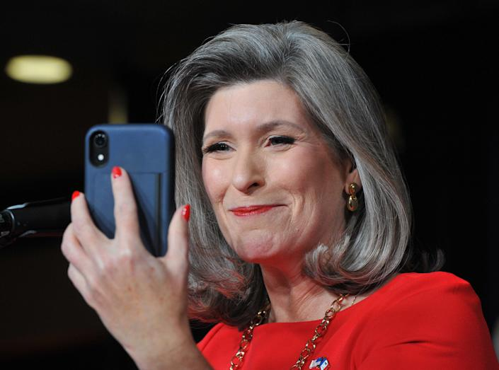 <p>File image: Ernst received her first jab of Covid-19 as people point out many in the healthcare remain in the queue</p> (Getty Images)