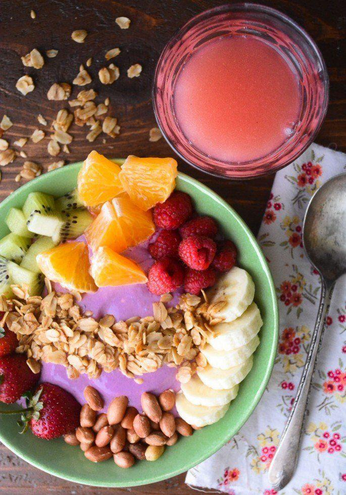 """<strong>Get the <a href=""""http://theviewfromgreatisland.com/breakfast-smoothie-bowl/"""" target=""""_blank"""">Breakfast Smoothie Bowl recipe</a>from The View from Great Island</strong>"""