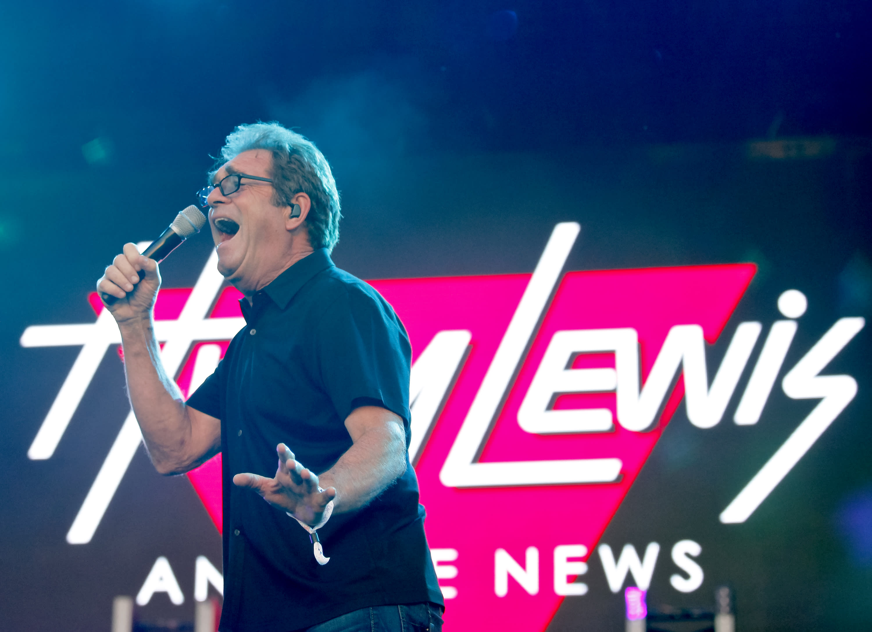Huey Lewis (pictured in 2017) can no longer perform due to hearing loss caused by Meniere's disease. (Photo: Tibrina Hobson/Getty Images)