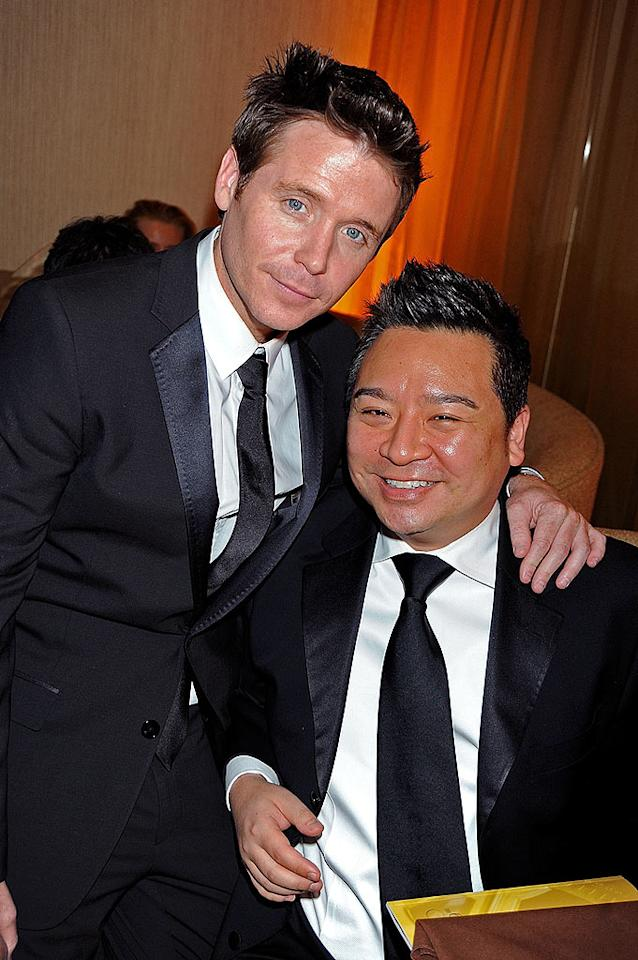 """Entourage's"" Kevin Connolly and Rex Lee made a dapper duo. Jeff Kravitz/<a href=""http://filmmagic.com/"" target=""new"">FilmMagic.com</a> - January 11, 2009"