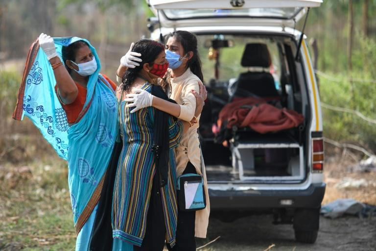 Indians are grieving in mass numbers as their country is hit with one of the world's worst pandemic waves