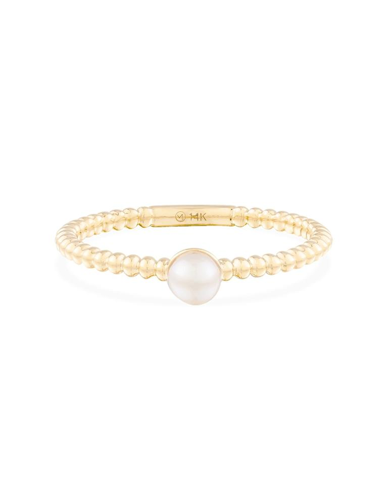 """$90, Mejuri. <a href=""""https://mejuri.com/shop/products/pearl-beaded-ring-2"""">Get it now!</a>"""