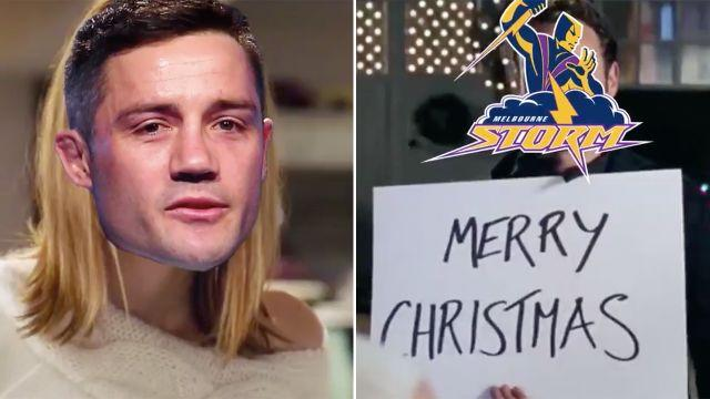 Absolute gold. Image: Twitter/Melbourne Storm