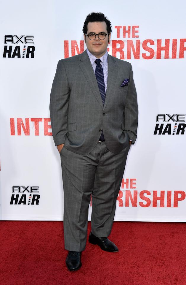 "WESTWOOD, CA - MAY 29: Actor Josh Gad arrives at the Premiere Of Twentieth Century Fox's ""The Internship"" on May 29, 2013 in Westwood, California. (Photo by Frazer Harrison/Getty Images)"